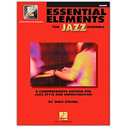 Hal Leonard Essential Elements For Jazz Ensemble Piano Book/2CD (841353)