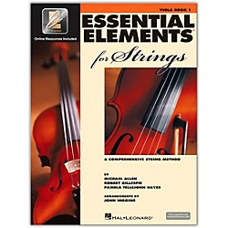Hal Leonard Essential Elements For Strings - Viola Book 1 With EEi (Book/CD-ROM) (868050)