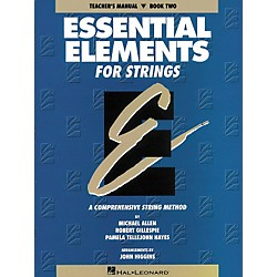 Hal Leonard Essential Elements For Strings Teachers Manual Book 2 (862554)