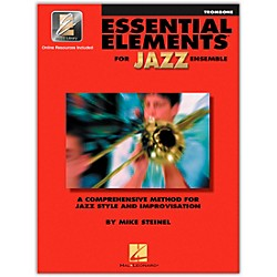Hal Leonard Essential Elements Jazz Ensemble for Trombone (Book/2 CDs) (841351)