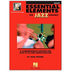 Hal Leonard Essential Elements Jazz Ensemble for Trumpet (Book with 2 CDs) (841350)
