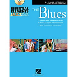 Hal Leonard Essential Elements Jazz Play-Along - The Blues (B-Flat, E-Flat, and C-Instruments) Book/CD (842360)
