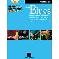 Hal Leonard Essential Elements Jazz Play-Along - The Blues (Rhythm Section) Book/CD (842362)