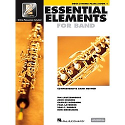Hal Leonard Essential Elements Oboe Thumb Plate (Book/CD) (862612)