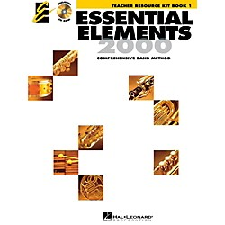 Hal Leonard Essential Elements Teacher's Resource Kit Book 1 with CD-ROM (862586)