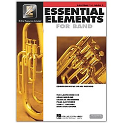Hal Leonard Essential Elements for Baritone Treble Clef (Book 2 with CD) (862601)