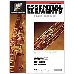 Hal Leonard Essential Elements for Bassoon (Book 2 with CD) (862590)