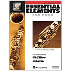 Hal Leonard Essential Elements for Bb Bass Clarinet (Book 2 with CD) (862593)
