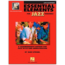 Hal Leonard Essential Elements for Jazz Ensemble for Alto Saxophone (Book with 2 CDs) (841347)