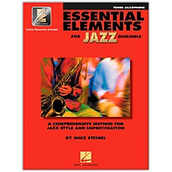 Hal Leonard Essential Elements for Jazz Ensemble for Tenor Saxophone (Book with 2 CDs) (841348)