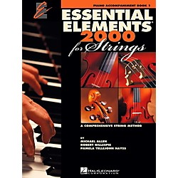 Hal Leonard Essential Elements for Strings - Piano Accompaniment, Book 1 (868053)