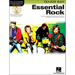 Hal Leonard Essential Rock For Tenor Sax Book/CD Instrumental Play-Along (841947)