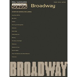 Hal Leonard Essential Songs - Broadway Piano/Vocal/Guitar Songbook (311222)