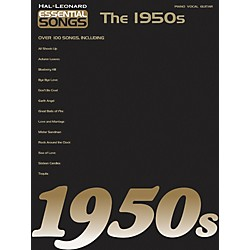 Hal Leonard Essential Songs - The 1950's Piano, Vocal, Guitar Songbook (311191)
