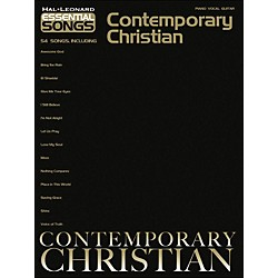 Hal Leonard Essential Songs Contemporary Christian arranged for piano, vocal, and guitar (P/V/G) (311892)