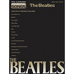 Hal Leonard Essential Songs The Beatles arranged for piano, vocal, and guitar (P/V/G) (311389)