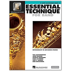Hal Leonard Essential Technique 2000 Eb Alto Saxophone (Book 3 with CD) (862623)