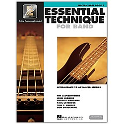 Hal Leonard Essential Technique 2000 Electric Bass Book/CD (862632)