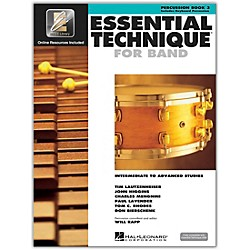 Hal Leonard Essential Technique 2000 Percussion (Book 3 with CD) (00862633)
