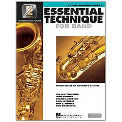 Hal Leonard Essential Technique 2000 Tenor Saxophone (Book 3 with CD) (862624)