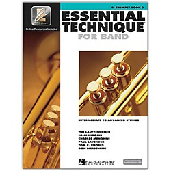 Hal Leonard Essential Technique 2000 for B Flat Trumpet (Book 3 with CD) (862626)