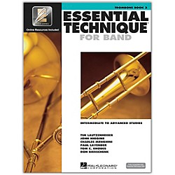 Hal Leonard Essential Technique 2000 for Trombone (Book 3 with CD) (862628)