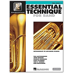 Hal Leonard Essential Technique 2000 for Tuba (Book 3 with CD) (862631)