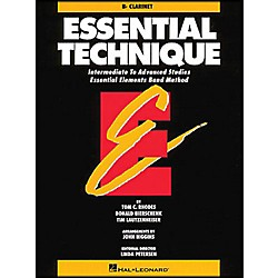 Hal Leonard Essential Technique B Flat Clarinet Intermediate To Advanced Studies (863548)