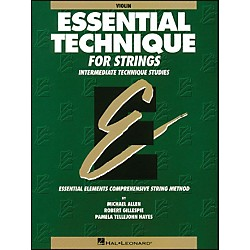 Hal Leonard Essential Technique For Strings Violin (868004)