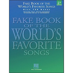 Hal Leonard Fake Book Of The World's Favorite Songs 4th Edition - Over 735 Songs (240072)