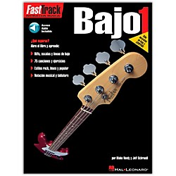 Hal Leonard Fast Track Method Bajo 1 Spanish Edition (Book/CD) (695596)