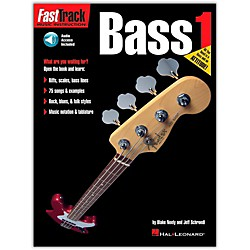Hal Leonard FastTrack Bass Method Book 1 CD Package (697284)