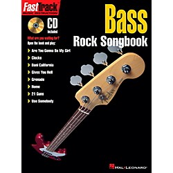 Hal Leonard FastTrack Bass Rock Songbook Book/CD (696440)