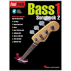 Hal Leonard FastTrack Bass Songbook 2 Level 1 Book with CD (695368)