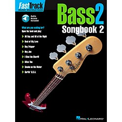 Hal Leonard FastTrack Bass Songbook 2 Level 2 Book with CD (695369)