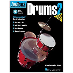 Hal Leonard FastTrack Drum Method - Book 2 With CD (697295)