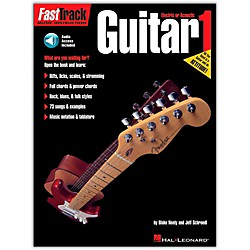 Hal Leonard FastTrack Guitar Method Book 1 CD Package (697282)