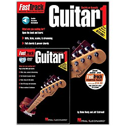 Hal Leonard FastTrack Guitar Method Starter Pack - Includes Book/CD/DVD (696403)