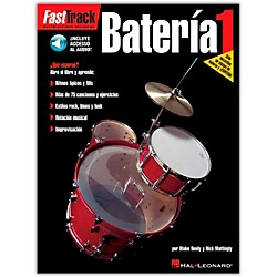 Hal Leonard Fasttrack Bateria 1 Book with CD - Spanish (695595)