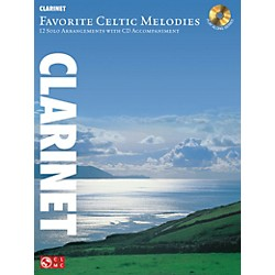 Hal Leonard Favorite Celtic Melodies For Clarinet Book/CD (2501855)