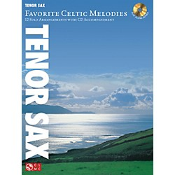 Hal Leonard Favorite Celtic Melodies For Tenor Sax Book/CD (2501857)