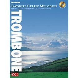 Hal Leonard Favorite Celtic Melodies For Trombone Book/CD (2501860)