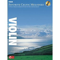 Hal Leonard Favorite Celtic Melodies For Violin Book/CD (2501861)