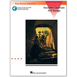 Hal Leonard Favorite German Art Songs For Low Voice Book/CD (740049)