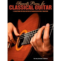 Hal Leonard Favorite Pieces For Classical Guitar  Solo Guitar with Tab (102094)