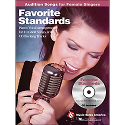 Hal Leonard Favorite Standards - Audition Songs For Female Singers Book/CD (14031133)