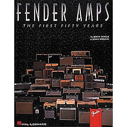 Hal Leonard Fender Amps The First Fifty Years Book (697278)