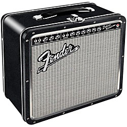 Hal Leonard Fender Black Tolex Metal Lunch Box (Blackface) (121852)
