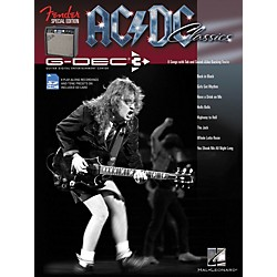 Hal Leonard Fender G-Dec AC/DC Play-Along Guitar Songbook/SD Card (702323)