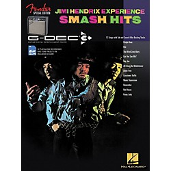 Hal Leonard Fender G-Dec Jimi Hendrix Smash Hits Guitar Play-Along Songbook/SD Card (702312)